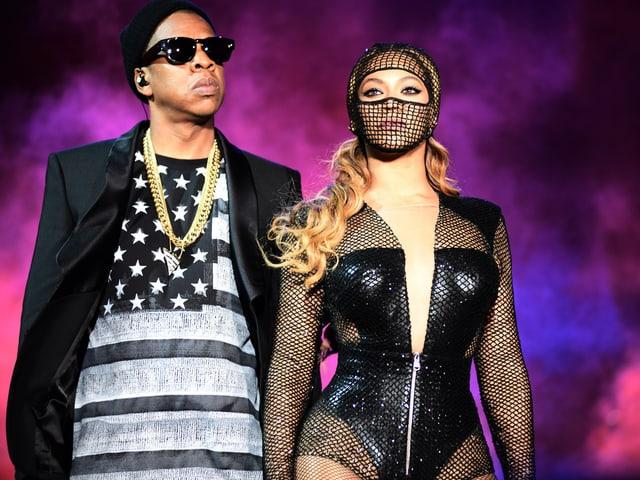 Beyonce und Jay Z