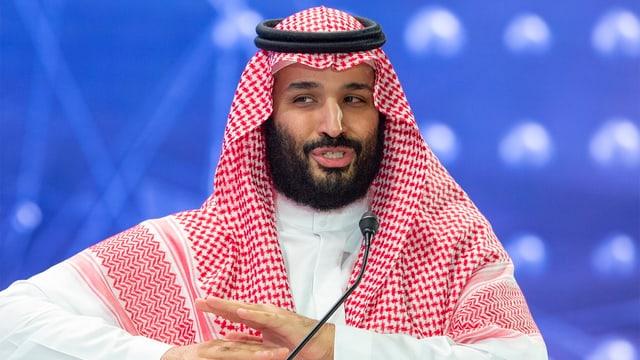 prinzi ereditar da l'Arabia Saudita Mohammed bin Salman.