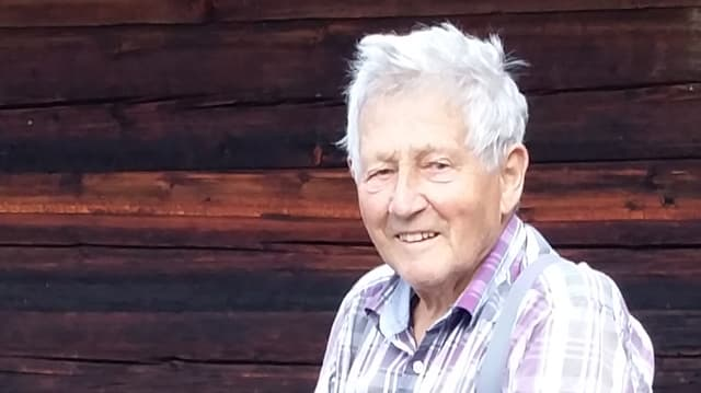 Isidor Pelican (85) viva dapi sia naschientscha sin il bain puril a Bubretsch.
