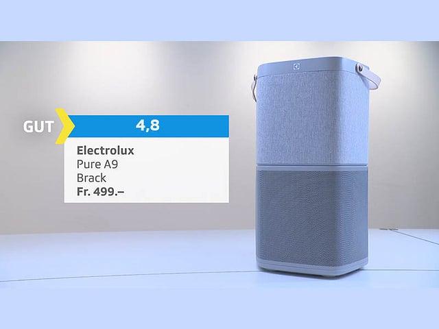Luftreiniger Electrolux, Bewertung gut