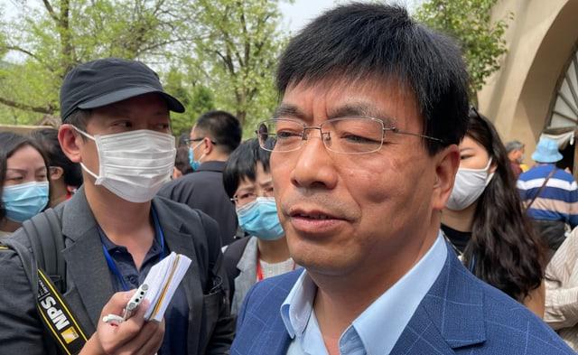 Partei-Professor Wang Dongcang