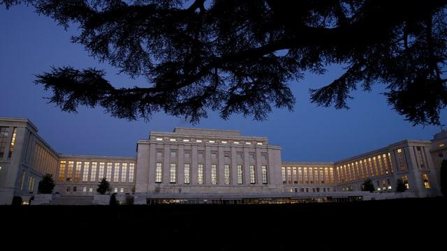UNO-Hauptsitz in Genf.