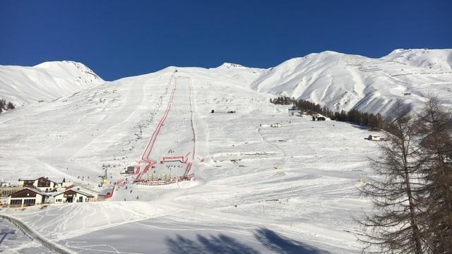 Regiun da skis Zuoz.