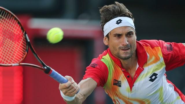David Ferrer spielte gegen Andy Murray gross auf.