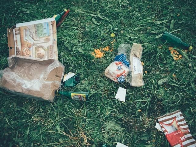 Abfall am Openair St. Gallen 2018
