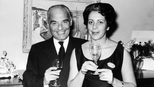 Georges und Odette Brunschvig.