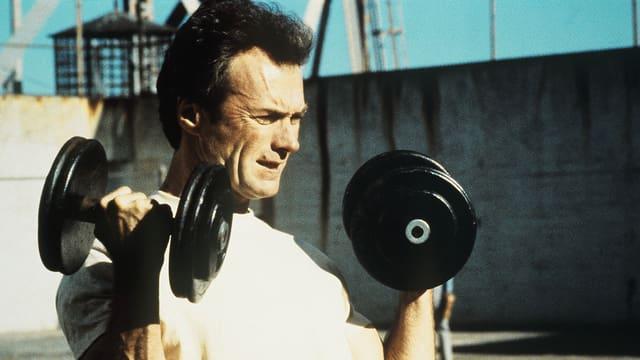 Clint Eastwood als Frank Morris