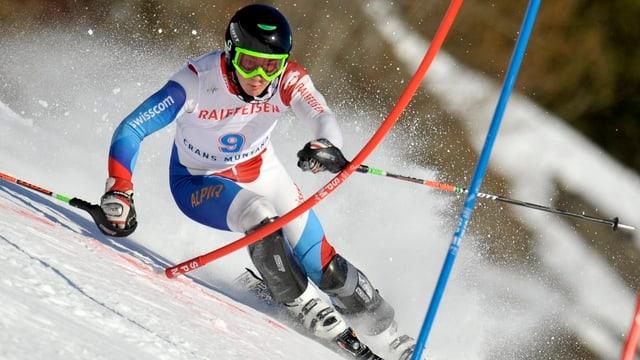 Luca Aerni darf erstmals bei den «Grossen» ran.
