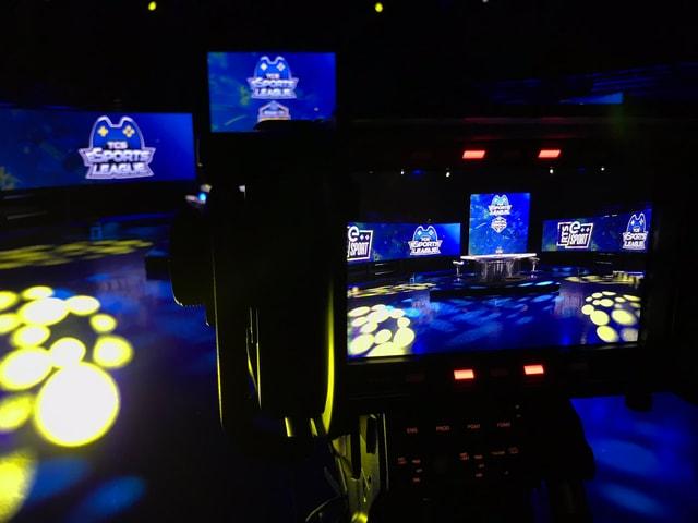 Das Studio der TCS eSportsLeague