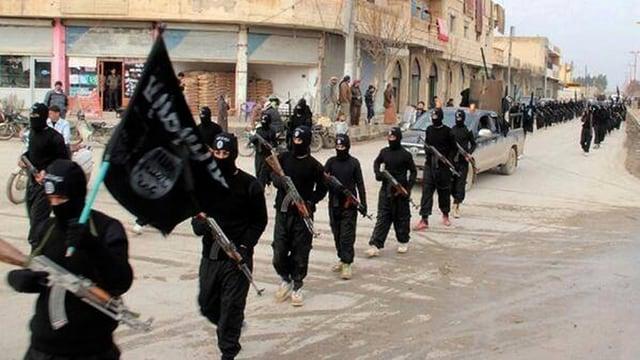 Terroristen des IS.
