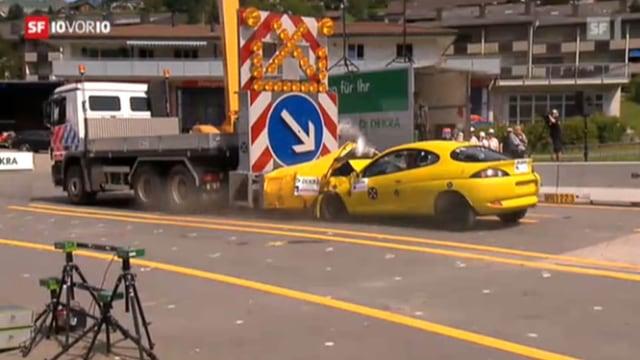 Autobahn-Baustellen sind gefährlich