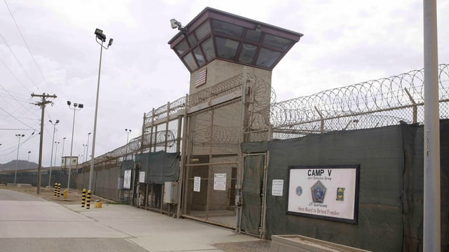 Aussenaufnahme von Guantanamo