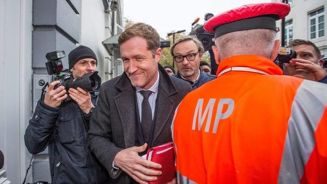 Der Ministerpräsident der Region Wallonien.