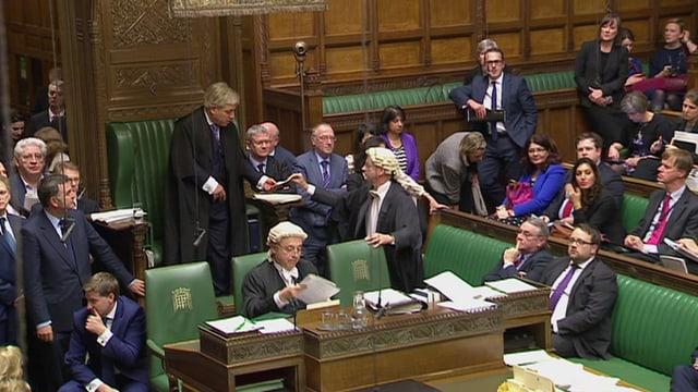 Parlamentaris britannics.