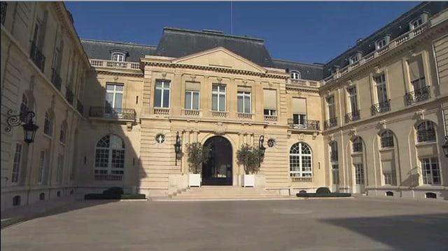 Schloss La Muette, Sitz der OECD in Paris.