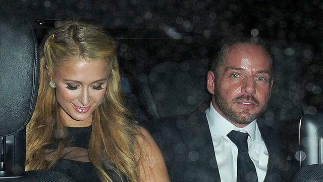 Paris Hilton und Thomas Gross