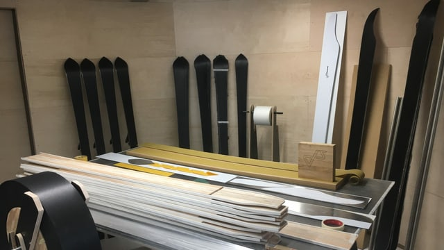 Ils emprims skis èn fatgs