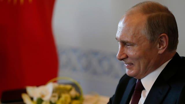Il president Wladimir Putin vi dal rir.