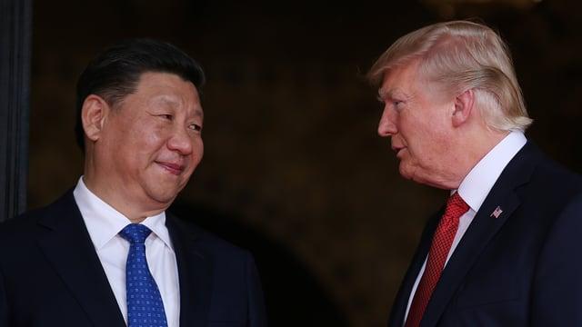 Jinping und Trump sprechen miteinander