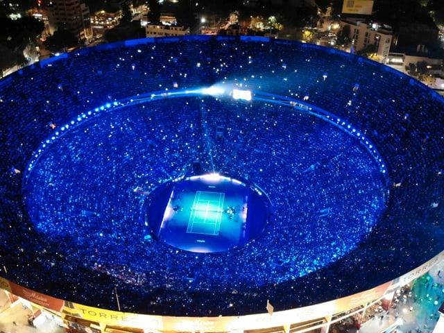 Stierkampf-Arena in Mexiko City