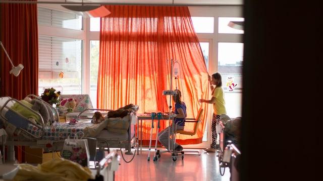 Kinderabteilung des Kantonsspitals