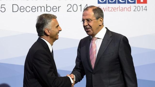 Schweizer OSZE-Vorsitz 2014