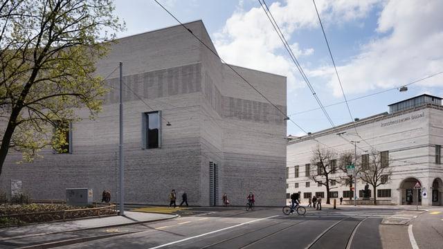 Erweiterungsbau des Basler Kunstmuseums.