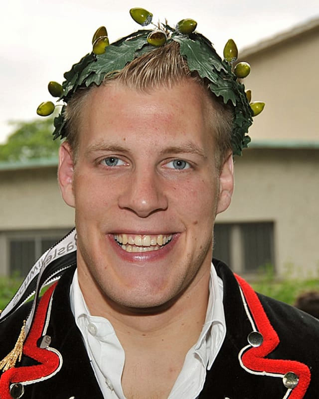 Der Schwinger Christoph Bieri