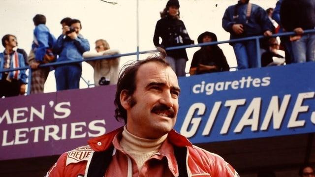 Clay Regazzoni auf Ferrari