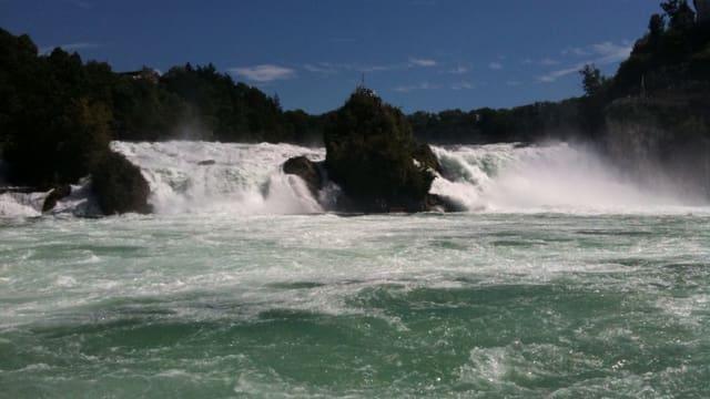 Der Schaffhauser Rheinfall