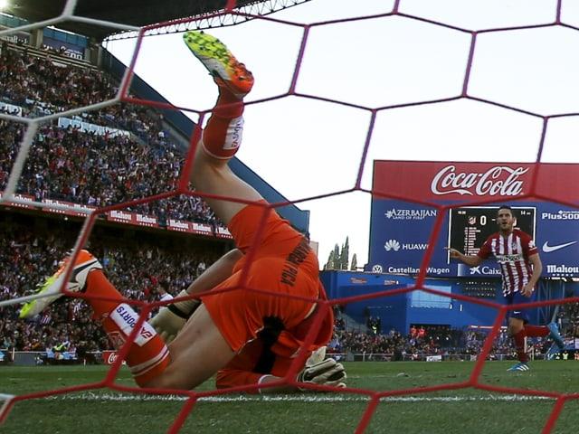 Koke trifft für Atletico