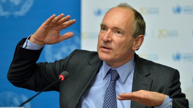 Tim Berners-Lee, Erfinder des Internets