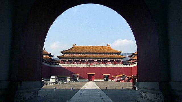 Das Tor zur Verbotenen Stadt in Peking.
