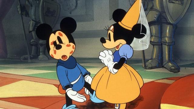 Mickey und Mini Mouse