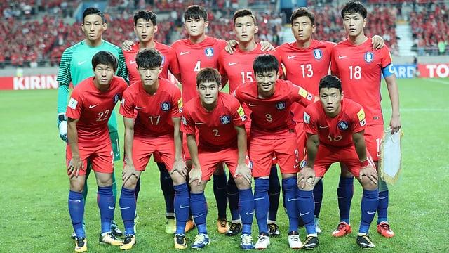 Südkorea Team
