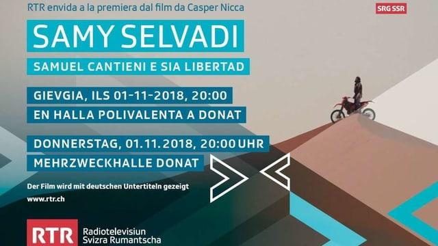 La premiera da film «Samy Selvadi – Samuel Cantieni e sia libertad».