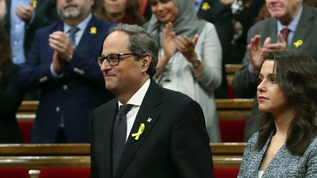 Quim Torra, il nov president da la Catalugna.