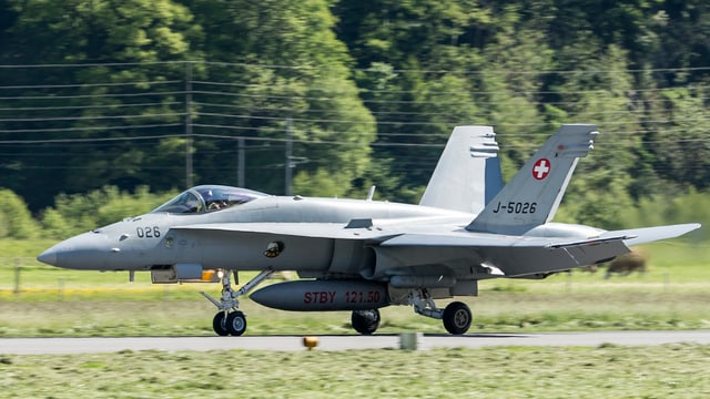 in aviun militar F/A-18