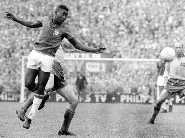 Pelé im WM-Final 1958