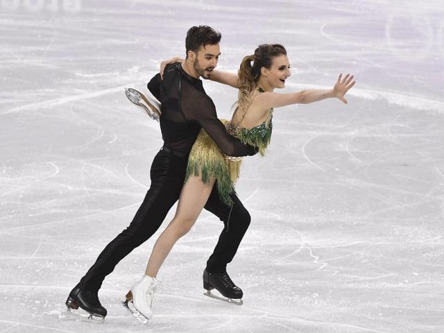 Französisches Eiskunstlaufpaar