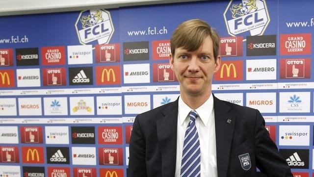 Der scheidende FCL-Präsident Mike Hauser.