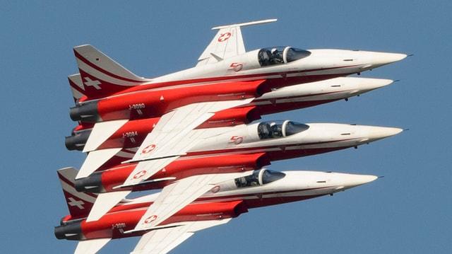 Die Jets der Patrouille Suisse