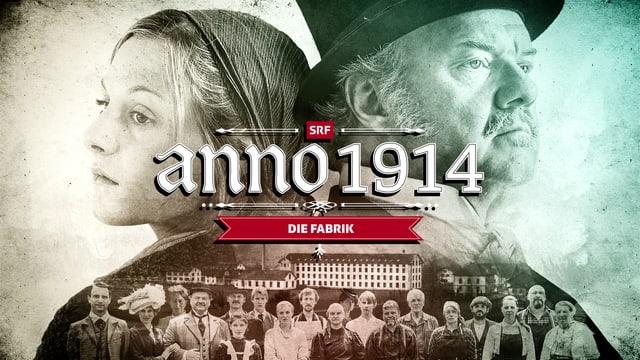 """Keyvisual von """"anno 1914: die Fabrik"""""""