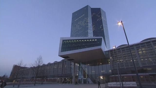 EZB-Gebäude von aussen