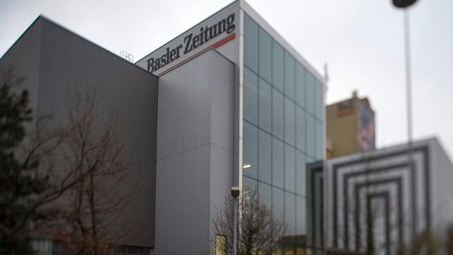 Die Druckerei der Basler Zeitung