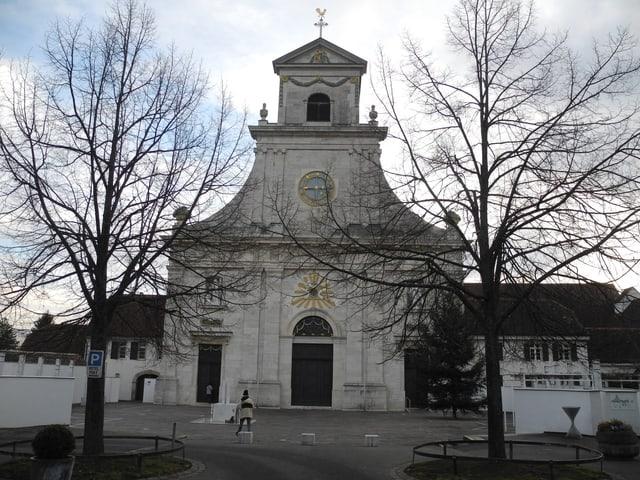 Fassade Klosterkirche Mariastein.