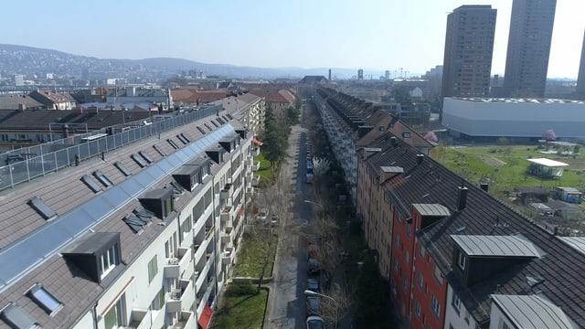 Das betroffene Gebäude