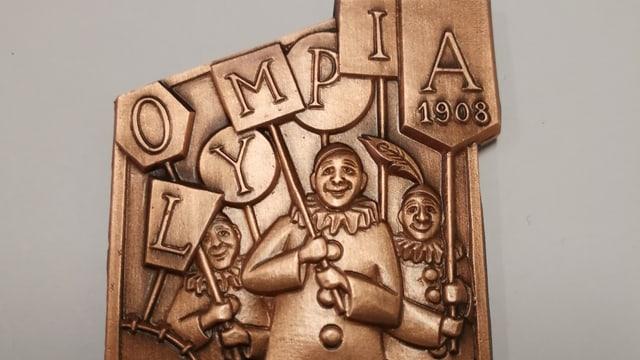 Die Clique Olympia lanciert eine eigene Plakette.