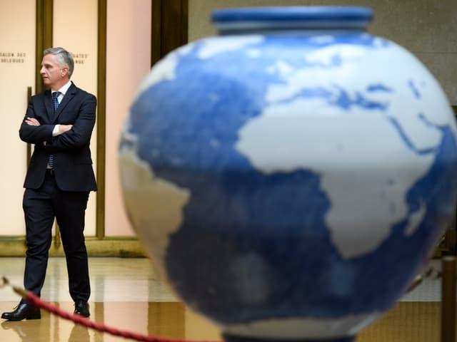 Didier Burkhalter am 12.1.2017 in Genf.