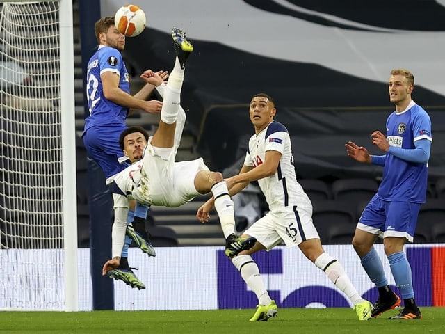 Tottenham mit Gala im Achtelfinal